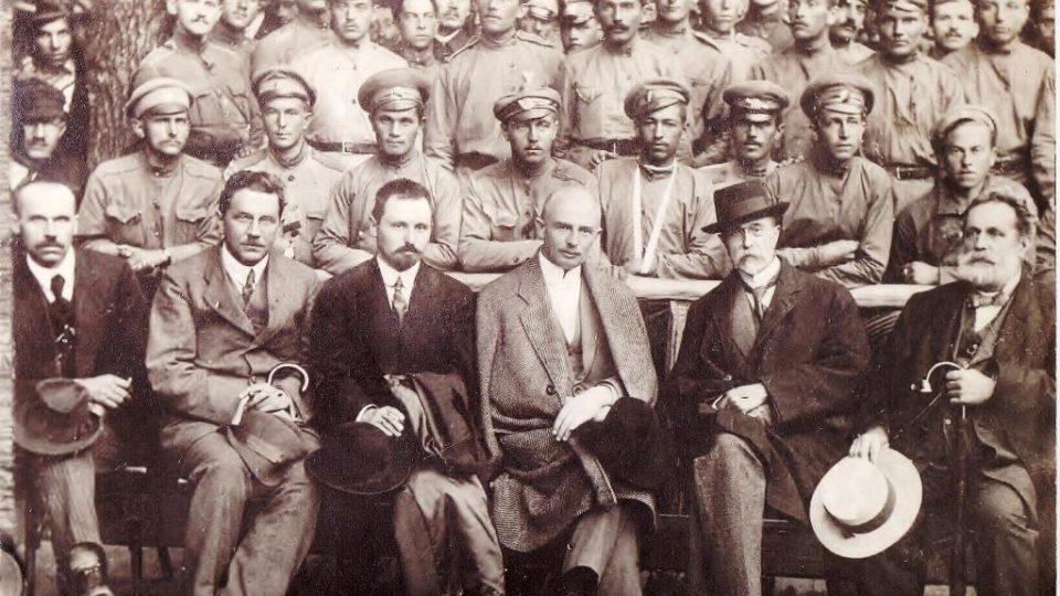 Tomáš Garrigue Masaryk během svého pobytu v Kyjevě