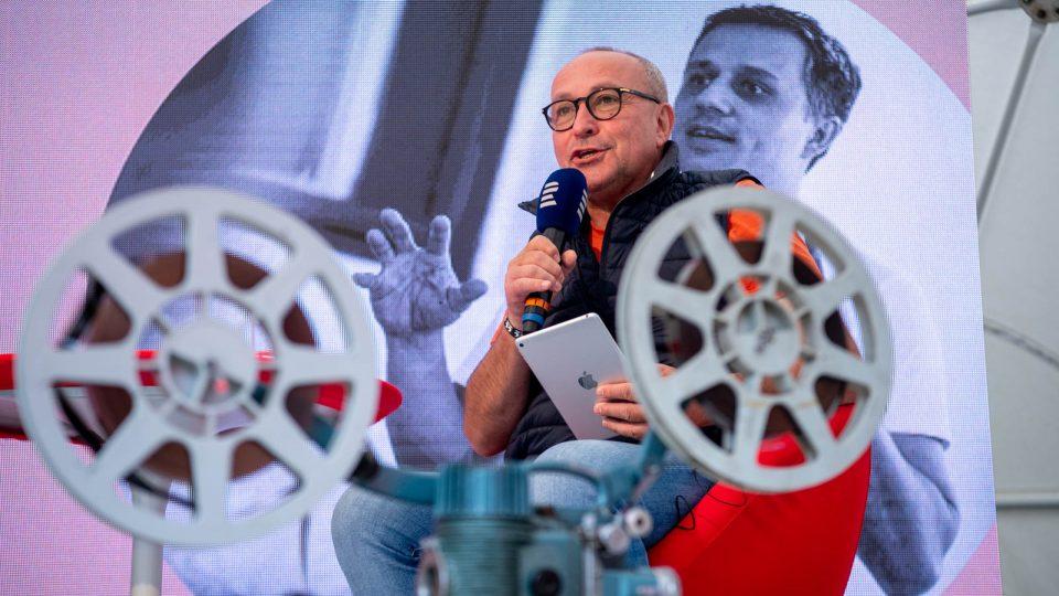 Moderátor Jan Pokorný
