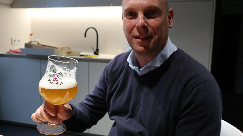"""""""Kvalita nesmí být jen v pivu, ale i ve sklenici,"""" zdůrazňuje sládek Hans Van Remoortere"""