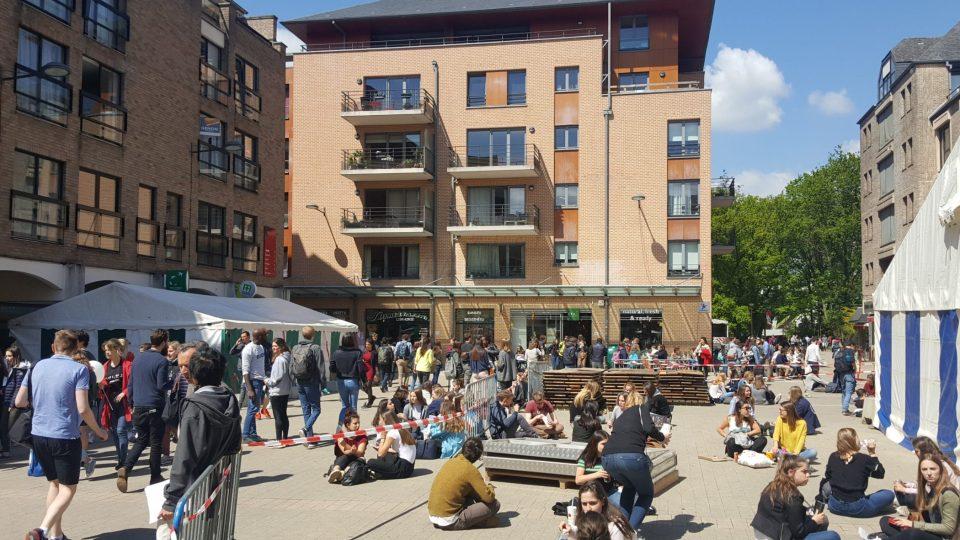 Nová Lovaň patří k nejmladším evropským městům i pokud jde o věkový průměr jejích obyvatel.