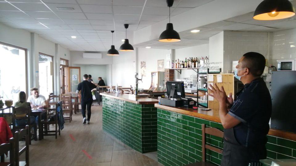Tapas bar je Fernandův splněný sen, vložil do něj všechny svoje úspory