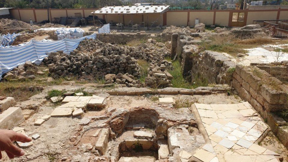 Archeologická lokalita Tell Abú Ámir v pásmu Gazy