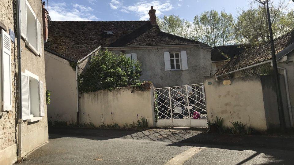 Dům, kde se svou rodinou žil Pavel Tigrid
