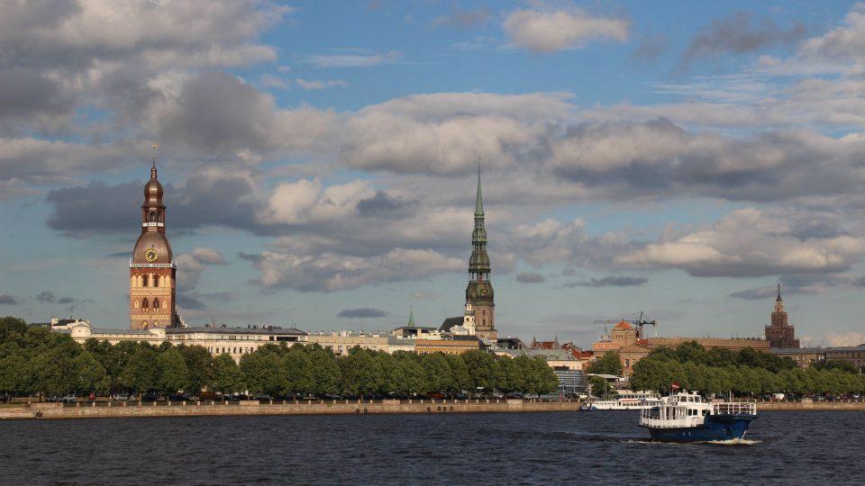 Riga, hlavní město Lotyšska