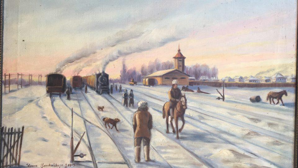 Stanice Berikulskaja na ruské Sibiři