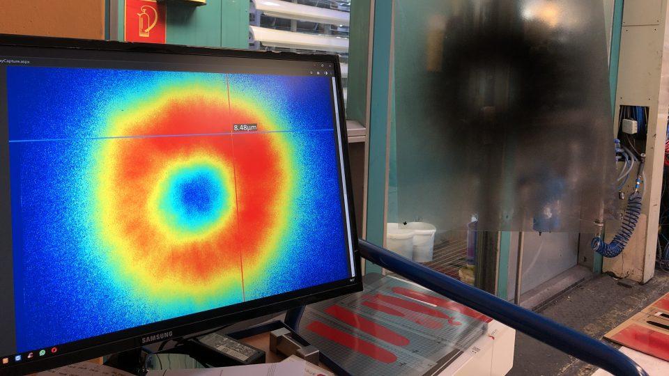 Start-up SprayVision přišel na to, jak efektivně měřit kvalitu laku. Jejich scan vypadá jako heatmapa