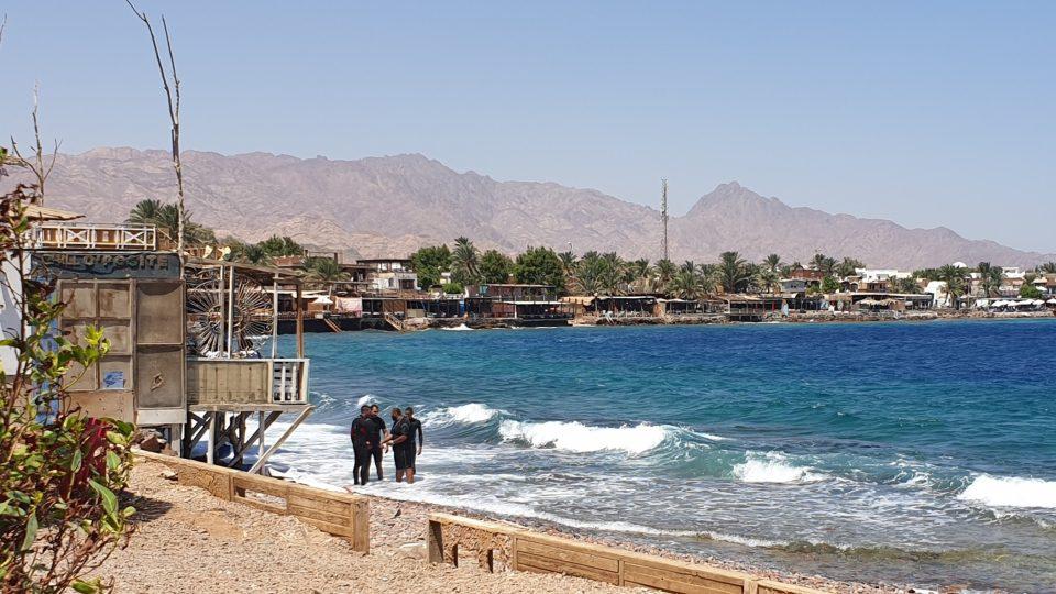 Egyptské letovisko Dahab je rájem potápěčů