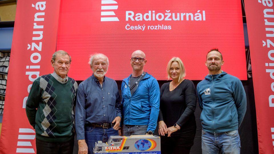 Zleva Karel Valchař, Stanislav Synek, Marek Havlíček, Patricie Strouhalová a Petr Holeček