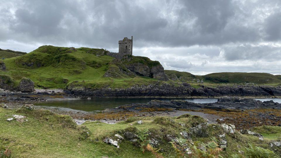Skotská Argill je čarokrásná, není divu, že se rodina do místa zamilovala