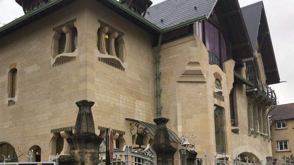 Vila Majorelle ve francouzském Nancy