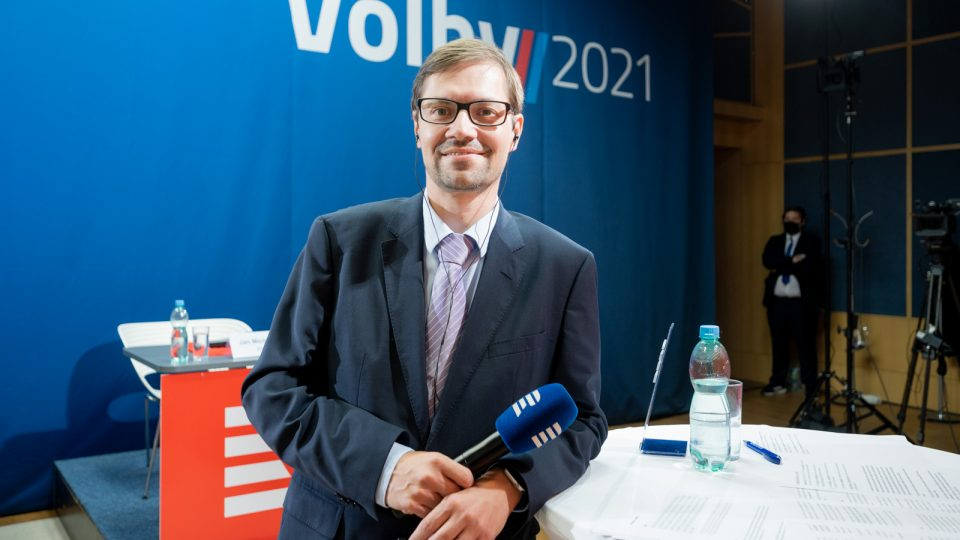 Moderátor Tomáš Pancíř