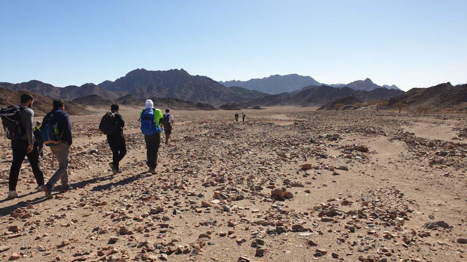 Beduíni bojují s úřady o povolení k přenocování turistů. Zatím jsou výpravy tedy pouze jednodenní