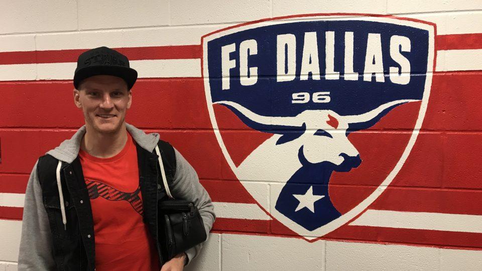 Fotbalista Zdeněk Ondrášek našel svůj nový fotbalový domov v texaském Dallasu