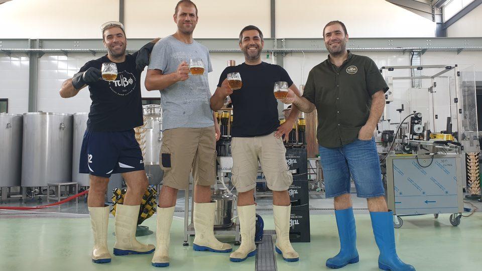 Rodinný podnik: minipivovar Pivo tvoří tři bratři a jejich bratranec