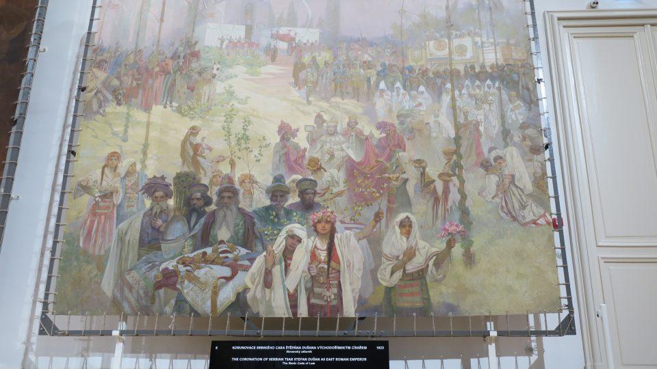 Slovanská epopej v Moravském Krumlově