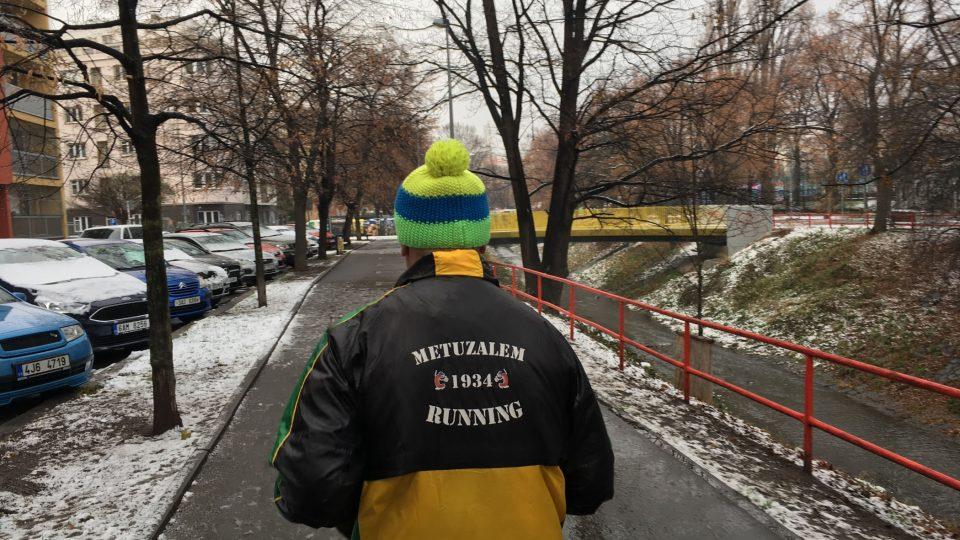 Jiří Pejpal běhá třikrát týdně a občas se o víkendu přihlásí na závod