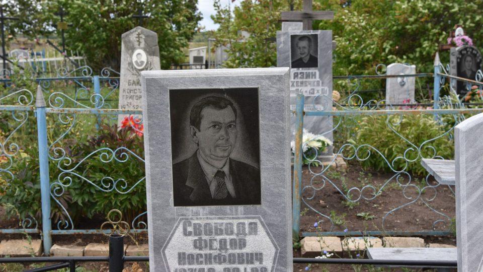 Starý hřbitov místní pečlivě udržují