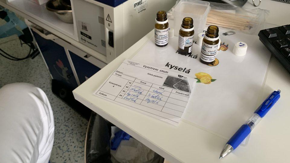 Vědci z Univerzity Pardubice chtějí zjednodušit testování chutě