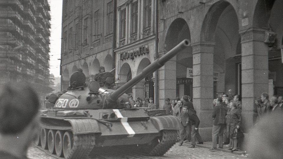 21. srpen 1968 v Liberci