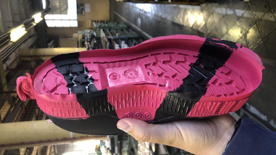 Výroba bot udržitelným způsobem probíhá ve Zlíně