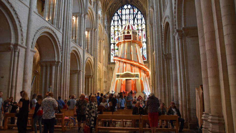 Katedrála v Norwichi