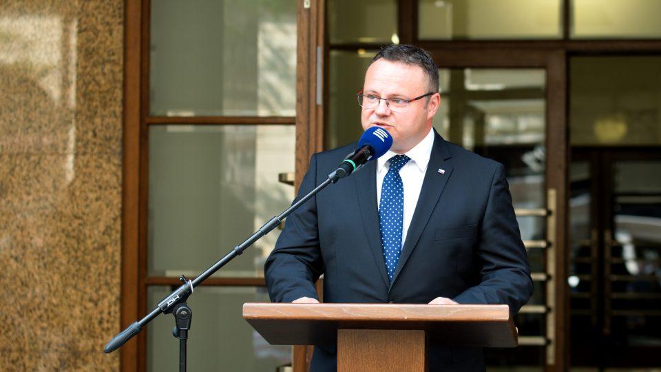 Úvodní řeč přednesl generální ředitel Českého rozhlasu René Závoral