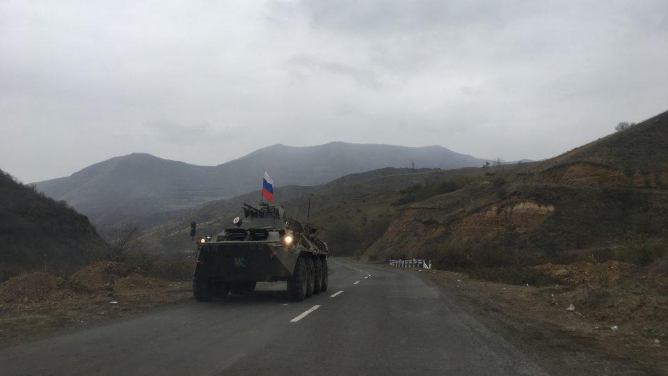 Na klid zbraní vNáhorním Karabachu dohlíží ruská armáda.