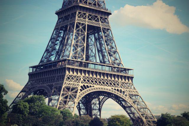 Eiffelova věž, Paříž (ilustrační foto)