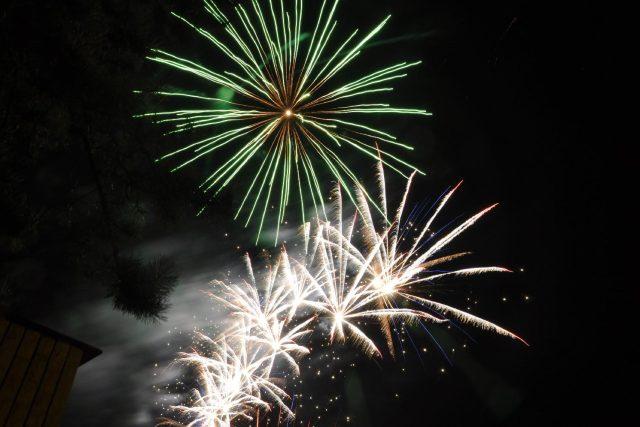 Silvestrovský ohňostroj (ilustrační foto)