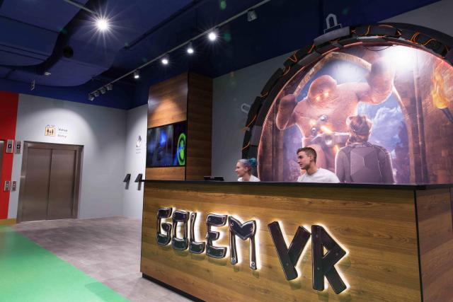 Virtuální hra Golem se veřejnosti otevřela ve středu