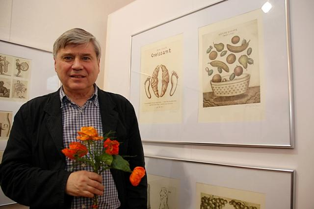 grafik, malíř a ilustrátor Jiří Slíva