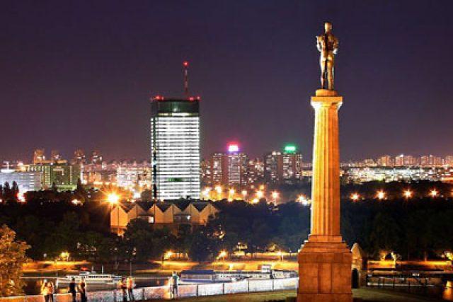 Noční Bělehrad | foto: Turistička organizacija Beograda