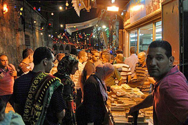 Ramadánová noc v Jeruzalémě