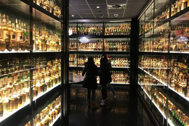 Centrum skotské whisky v Edinurghu