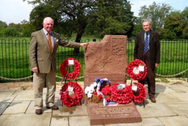 Památník v Cholmondeley