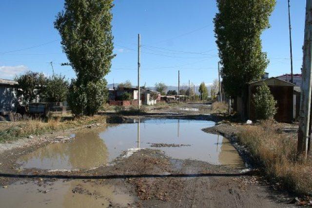 Kontejnerová osada v Gyumri