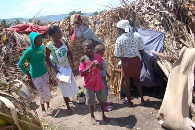 ADRA pomáhá na Haiti