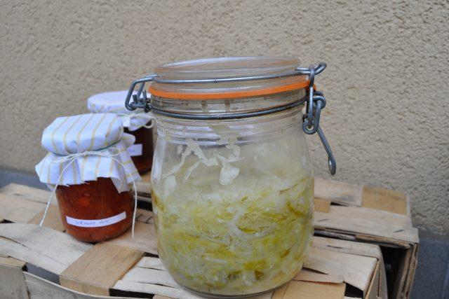 Kysané zelí - pickles | foto: Věra Strnadová