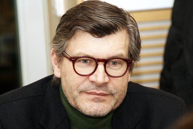 Pavel Maurer během rozhovoru