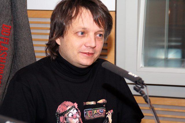 Martin Vandas se domnívá,  že animátoři mají obvykle v povaze hračičkovství   foto: Šárka Ševčíková,  Český rozhlas