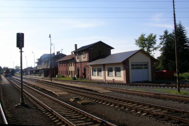Frenštát pod Radhoštěm, nádraží