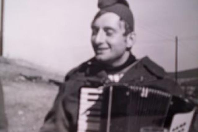 Harmonikář Václav Koubek