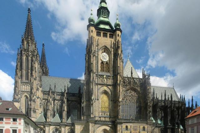 Katedrála svatého Víta,  Václava a Vojtěcha | foto: Wikimedia Commons