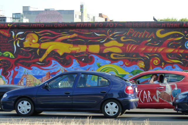 Části berlínské zdi dodnes stojí a připomínají historii rozděleného Německa | foto: Klára Stejskalová