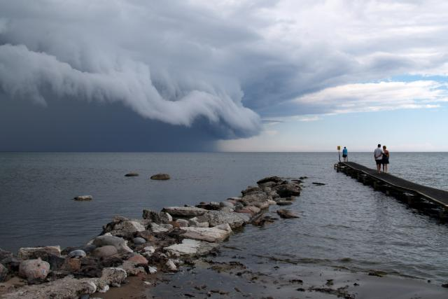 Život rybářů u Baltského moře ovlivňuje především počasí a mořské proudy