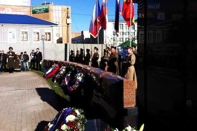 V posledních letech se v Rusku daří obnovovat památníky padlým Čechoslovákům