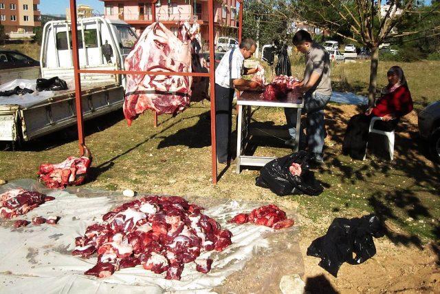 Řezníci jsou během Svátku oběti hodně vytížení
