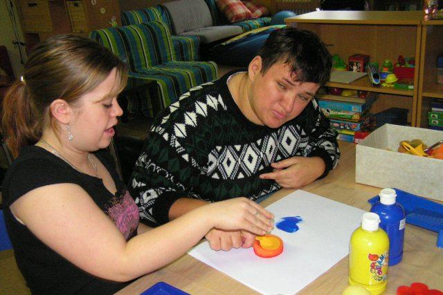 žáci testovali pomůcky pro postižené