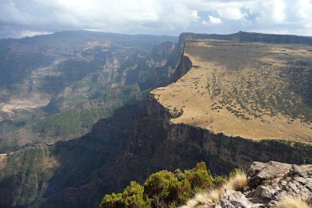 Simienské hory (Amharsko, Etiopie) - ilustrační foto