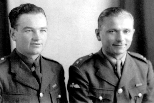 Výsadek Anthropoid – rotmistři Jan Kubiš a Josef Gabčík | foto:  z archívu Vojenského historického ústavu a Eduarda Stehlíka